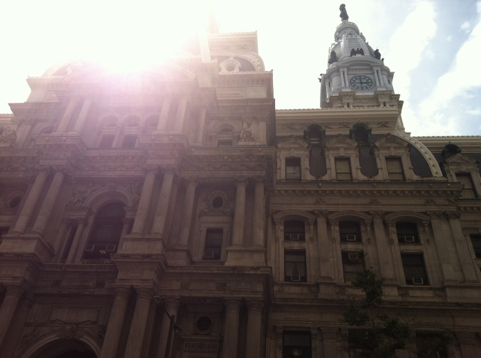 city hall in philly