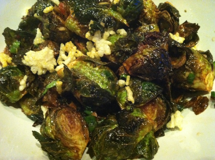 crispy brussel sprouts from sampan in philly