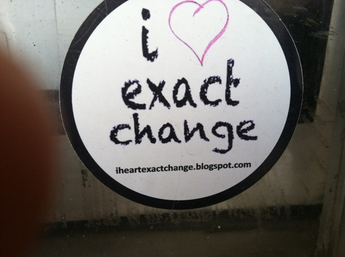 exact change philly